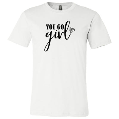 You Go Girl Diamond Tee