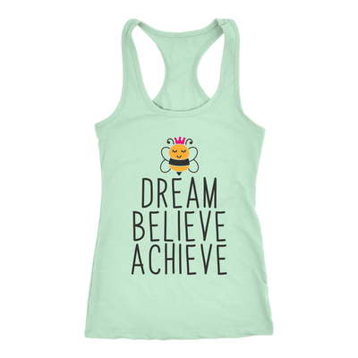 Dream Believe Achieve Bee Tank Top