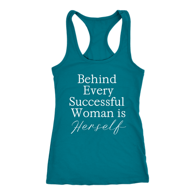 Behind every successful woman is Herself Tank Top