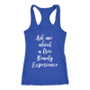 Ask me about a free beauty experience tank top