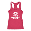 One woman can Lips Tank Top