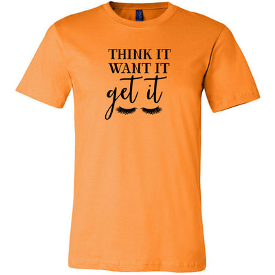 Think it, Want it, Get it Lashes Tee