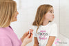 Mini Boss Babe Heart Bella & Canvas - Kids Short Sleeve Crewneck Jersey Tee Youth T-shirt - Size S/M/L