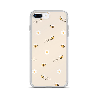 Baby Bumble Bees Daisy iPhone Case