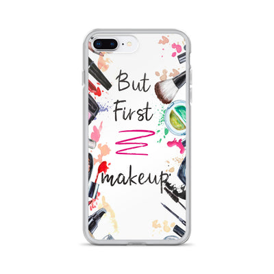 But First Makeup iPhone Case