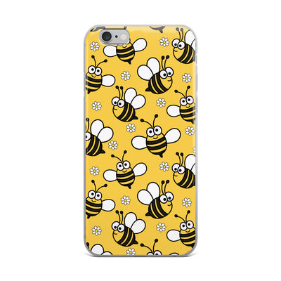 Happy Bees iPhone Case
