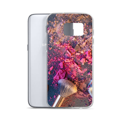 Broken Blush Makeup Brush Samsung Phone Case