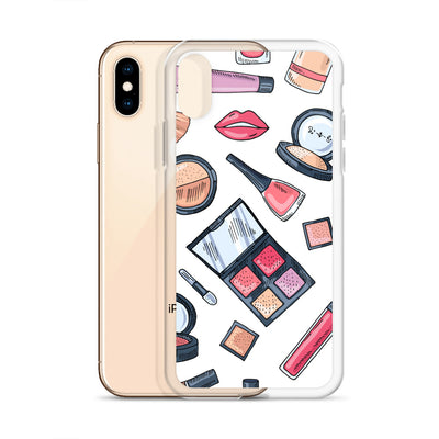 Makeup Background iPhone Case