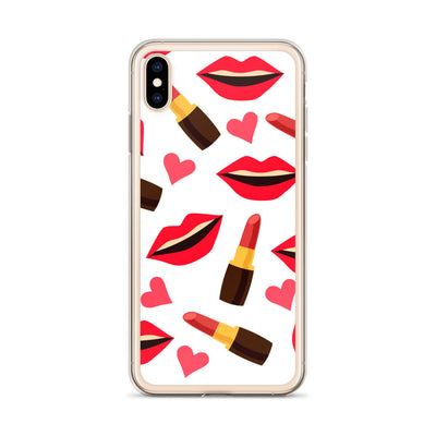 Lips and Lipstick iPhone Case