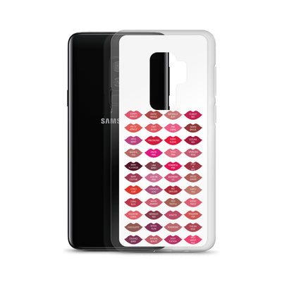 Mary Kay Lipstick Color Chart Lips Kisses Samsung Phone Case