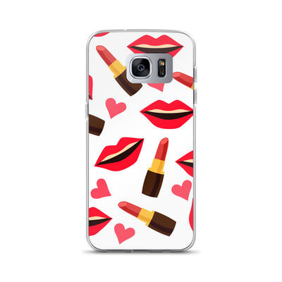 Lipstick & Lips Samsung Phone Case
