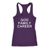 God Family Career Tank Top