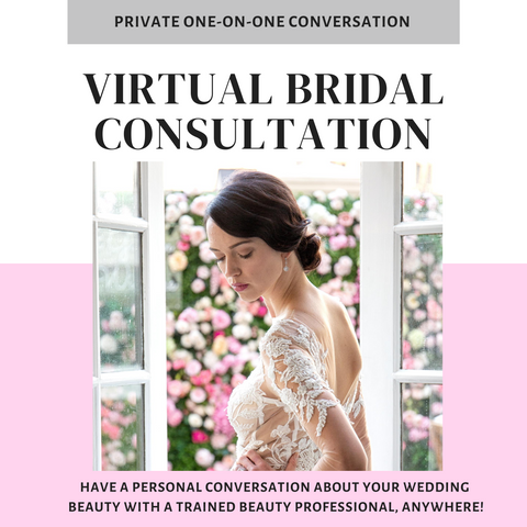 Bridal Virtual Consultation :: Discuss Your Wedding Beauty