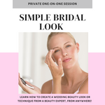Bridal Virtual Training :: Hands On Training For Your Wedding Look