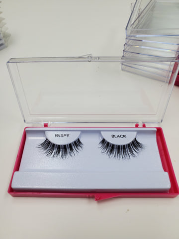 Faux Lashes w/ Case - Wispy