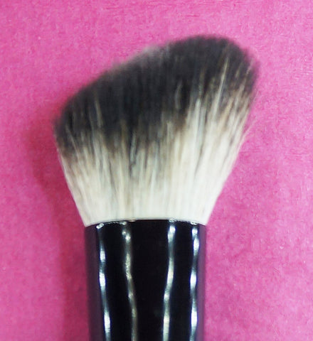 Natural hair makeup brush