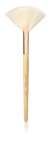 Jane Iredale - White Fan Brush Rose Gold