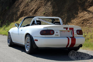 Blackbird Fabworx NA Single Diagonal Gen2 Roll Bar - 90-97 NA Miata