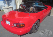 Load image into Gallery viewer, Blackbird Fabworx NA Single Diagonal Gen2 Roll Bar - 90-97 NA Miata