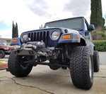 Jeep TJ Stubby Front Bumper Diamond Series For 97-06 Wrangler TJ Bare Steel Gatekeeper Off Road