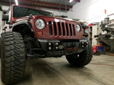 Jeep JK Wrangler Front Stubby Bumper For 07-18 Wrangler JK Gauntlet Series Gatekeeper Off Road