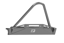 Load image into Gallery viewer, Jeep TJ Stubby Front Bumper Diamond Series For 97-06 Wrangler TJ Bare Steel Gatekeeper Off Road