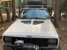 Load image into Gallery viewer, Cherokee XJ Hood Vents For 84-01 Cherokee XJ Bare Gatekeeper Off Road