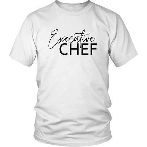 """Executive Chef"" Adult Apparel"
