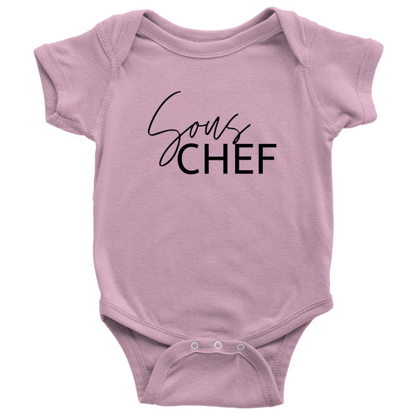 """Sous Chef"" Kids & Baby Apparel"
