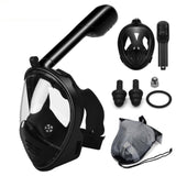 Diving Mask and Snorkel - Full Face