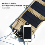 Solar Powered unfoldable Powerbank