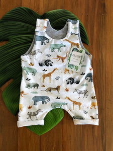 Shorties Safari Romper