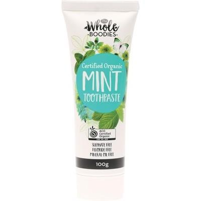 The Whole Boodies Mint Toothpaste (100g)