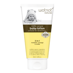 Wotnot Natural & Organic Baby Lotion (135mL)