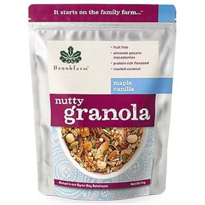 Brookfarm Nutty Granola Maple Vanilla (450g)