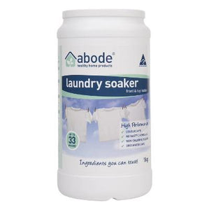 Abode Front & Top Loader Laundry Soaker High Performance (1kg)
