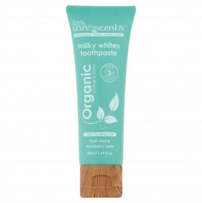 Little Innoscents Organic Milky Whites Toothpaste (50ml)