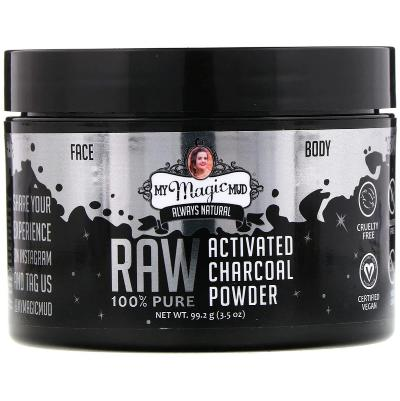 My Magic Mud Activated Raw Charcoal Powder