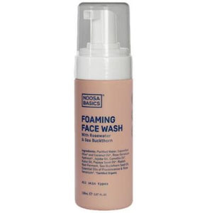 Noosa Basics Foaming Face Wash With Rosewater & Sea Buckthorn (150ml)