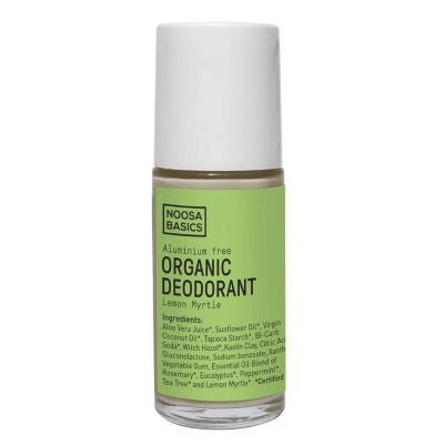 Noosa Basics Organic Roll-on Deodorant Lemon Myrtle (50ml)