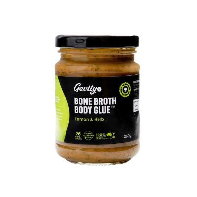 Gevity Rx Bone Broth Body Glue – Lemon & Herb
