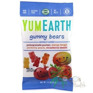Yum Earth Organic Gummy Bears 71g