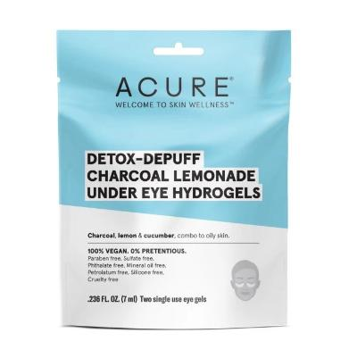 Acure Detox- Depuff Charcoal Lemonade Under Eye Hydrogels