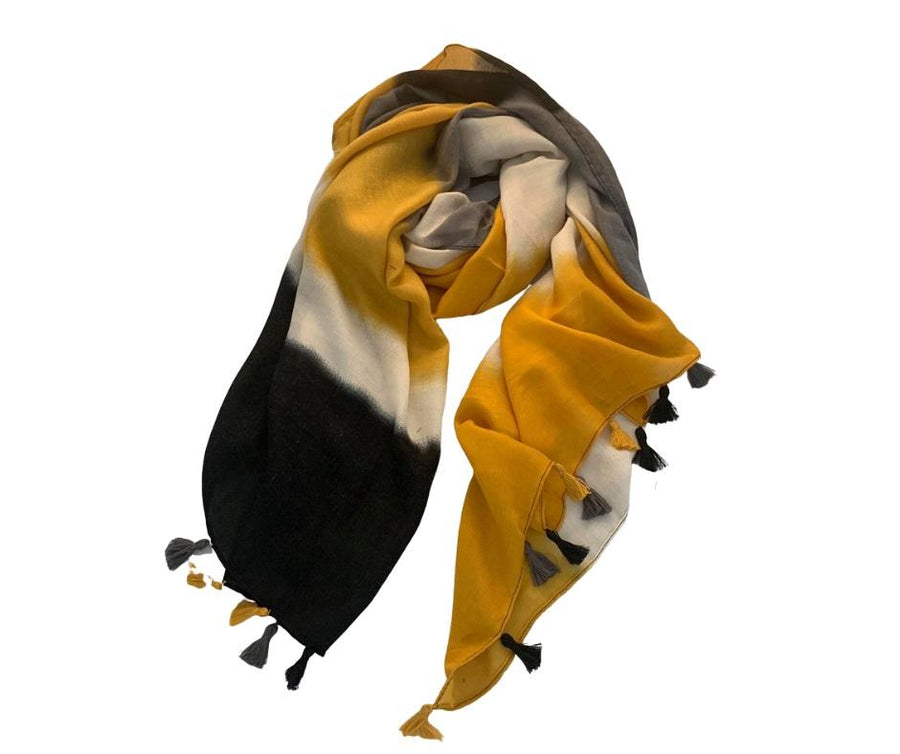 2 Tassel Scarves - Mixtio