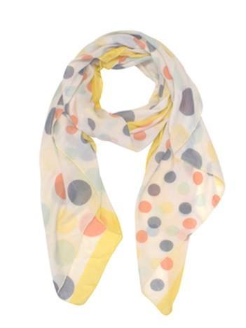 Classic Scarf - Pastel Dots