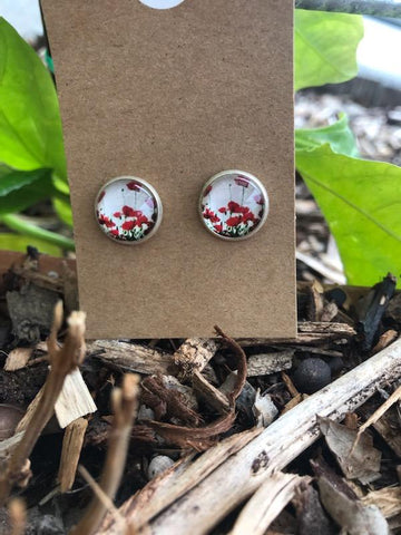 Limited Edition - Poppy Earrings
