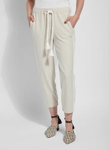 Valerian Crop Jogger (Stretch Crepe)