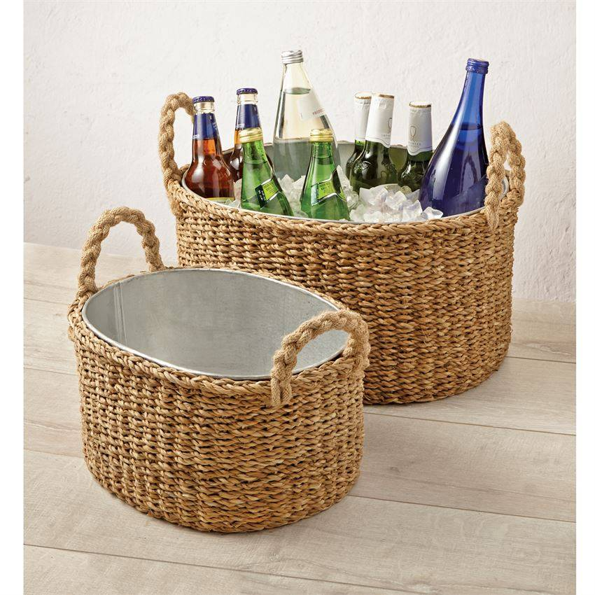 Multi-use Seagrass Party Tubs