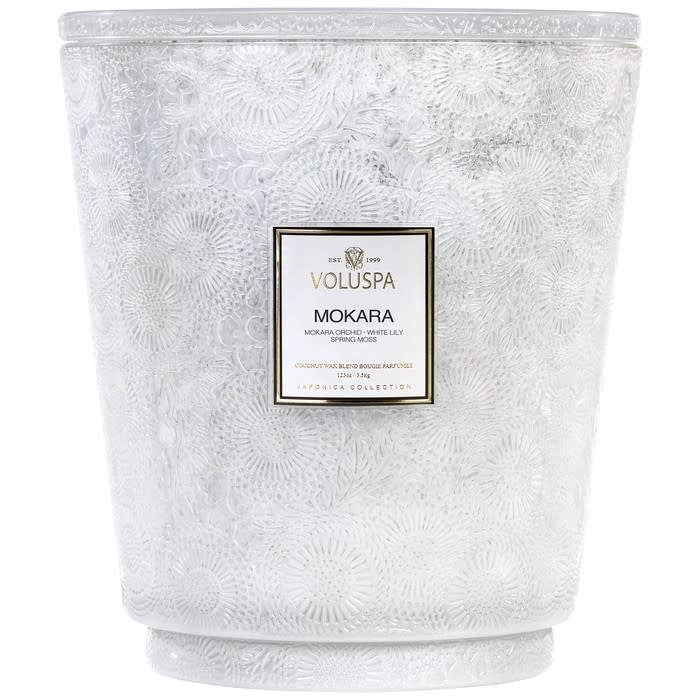 Mokara 123 oz Hearth Candle