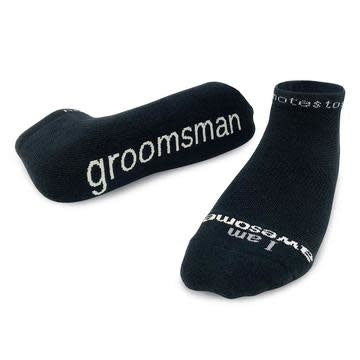 Notes To Self® 'I am Awesome - Groomsman'™ Socks